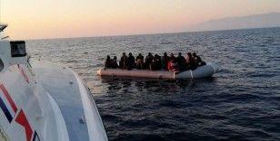 İzmir ve Aydın'da Türk kara sularına geri itilen 67 sığınmacı kurtarıldı