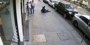 Fatih'te yaşanan silahlı saldırının görüntüleri ortaya çıktı