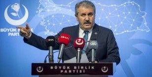 BBP Genel Başkanı Destici: Türkiye, ihtilaflı veya bize ait olan adalara ziyarete kesinlikle izin vermemelidir