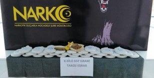 Adana'da 16 bin uyuşturucu hap ve 6 kilo esrar ele geçirildi