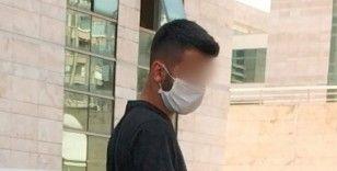 Bıçakla bir kişiyi yaralayan genç tutuklandı