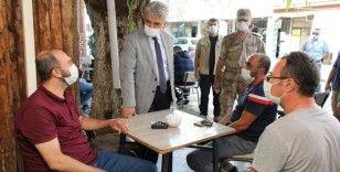 Erzincan'da 366 kişi ve 59 işyerine Covid-19 cezası