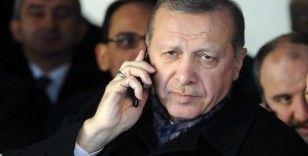 Cumhurbaşkanı Erdoğan, Almanya Başbakanı Merkel ile Doğu Akdeniz'i konuştu