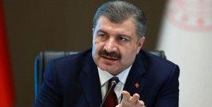 Sağlık Bakanı Koca: Bugün biz ve dünya virüsün saldırısı karşısında baştakinden daha zor bir dönemdeyiz