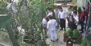 Esenyurt'ta değnekçi terörü: Dehşet anları kamerada