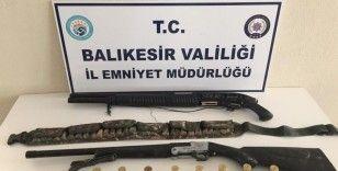 Balıkesir polisinden silah operasyonu