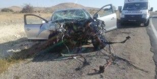 Malatya'da üç ayrı trafik kazasında 1'i ağır 7 kişi yaralandı
