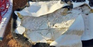 Afrin'de 75 kilo patlayıcı yüklü araç ele geçirildi