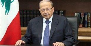 Lübnan Cumhurbaşkanı Aoun: 'Lübnan, cehenneme doğru gidebilir'