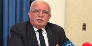 Filistin Körfez ülkelerinin İsrail'le normalleşmesine tepki olarak Arap Birliği dönem başkanlığını bıraktı