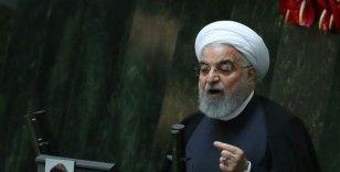 """İran Cumhurbaşkanı Ruhani'den BM'de """"yaptırım"""" tepkisi"""