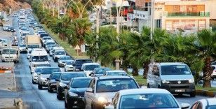 Bodrum'a büyük göç devam ediyor