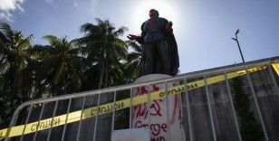 ABD'de protestoların ardından Kristof Kolomb'un 33 heykeli kaldırıldı