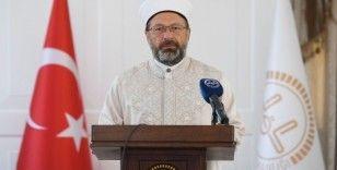 Prof. Dr. Ali Erbaş: 'Camiler şehrin kalbidir'