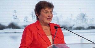 IMF Başkanı Georgieva: Küresel ekonomi Kovid-19 krizinin derinliklerinden çıkıyor
