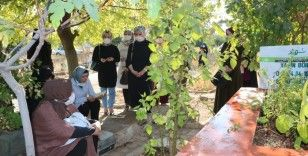 Dürdane Beyoğlu ve AK Partili kadınlar şehit Yasin Börü'yü dualarla andı