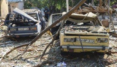 Ermenistan'ın attığı roket Berde'de kafeye düştü