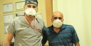 Tek böbrekli hasta, yapılan operasyonla dünya literatüründe 84'üncü vaka oldu