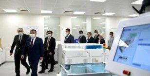 Bakan Koca Prof. Dr. Cemil Taşçıoğlu Şehir Hastanesini ziyaret etti