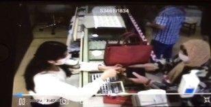 Kars'ta 35 bin liralık kuyumcu hırsızlığı güvenlik kamerasında