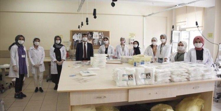 Meslek lisesi maske ve dezenfektan üretimini 5'e katladı