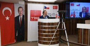 Başkan Şahin'le büyükelçi Pavek 'Akıllı Şehir' deneyimlerini paylaştı