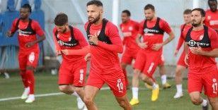 Sivasspor'da Kayserispor maçı hazırlıkları yeniden başladı