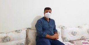 Tek akciğeriyle koronavirüsü yendi
