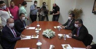 Ersin Tatar ikinci tur için destek arayışlarına başladı