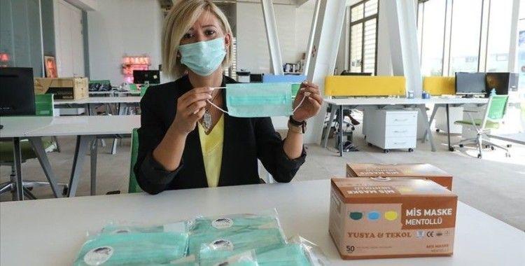 'Mentollü maske' ihracat yolunda