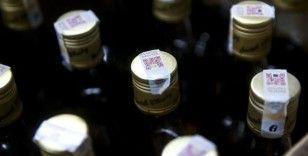 Sahte/kaçak içki operasyonlarında 16 bin 737 litre etil alkol ile 3 bin 253 litre sahte alkollü içki ele geçirildi