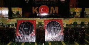 Gaziantep'te 3 bin şişe kaçak zeytinyağı ele geçirildi