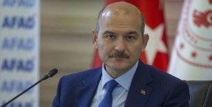 İçişleri Bakanı Soylu: 21. yüzyılın gelişmiş medeniyetleri Orta Doğu'da teröre senaristlik ve rejisörlük yapmaktadır
