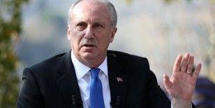 İnce: 'CHP yönetimine güvenmiyorum'