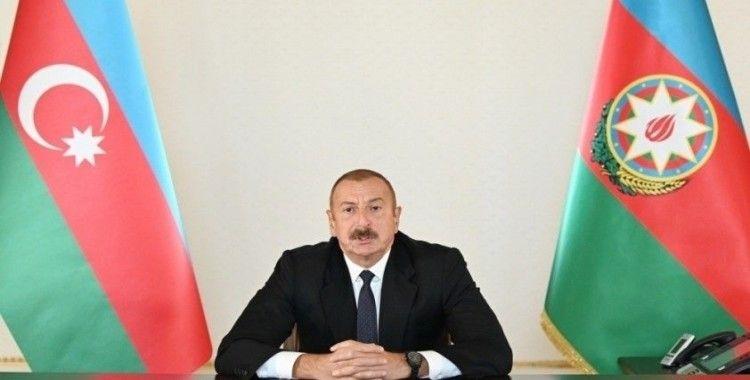Azerbaycan Cumhurbaşkanı Aliyev, 6 köyün saha işgalinden kurtarıldığını açıkladı