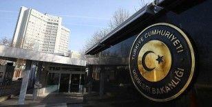 Dışişleri Bakanlığından Pakistan'daki terör saldırılarına kınama