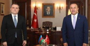 Dışişleri Bakanı Çavuşoğlu Azerbaycanlı mevkidaşı Bayramov'la Yukarı Karabağ'ı görüştü