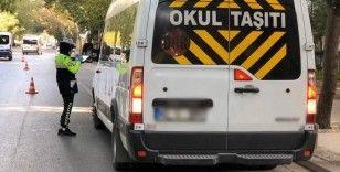 Konya'da 22 araç ve sürücüye 8 bin 636 lira ceza