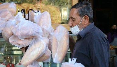 MHP Genel Başkanı Devlet Bahçeli'nin 'askıda ekmek' kampanyasına Diyarbakır'dan destek