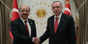 Cumhurbaşkanı Erdoğan: Ersin Tatar güçlü liderlikle seçim yarışından galip çıkmaya muvaffak oldu