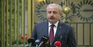 TBMM Başkanı Şentop: 'Sivilleri hedef alan saldırılar savaş suçudur'