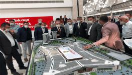 Vali Günaydın ve AK Parti İl Başkanı Çopuroğlu Kumsmall AVM'de inceleme yaptı