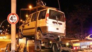 Ankara'da 2 trafik kazası