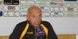 Giresunspor - Adanaspor maçının ardından