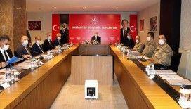 İçişleri Bakanı Soylu'nun katılımıyla Gaziantep'te düzenlenen güvenlik toplantısı tamamlandı