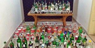 Afyonkarahisar'da sahte alkol operasyonu: 3 gözaltı