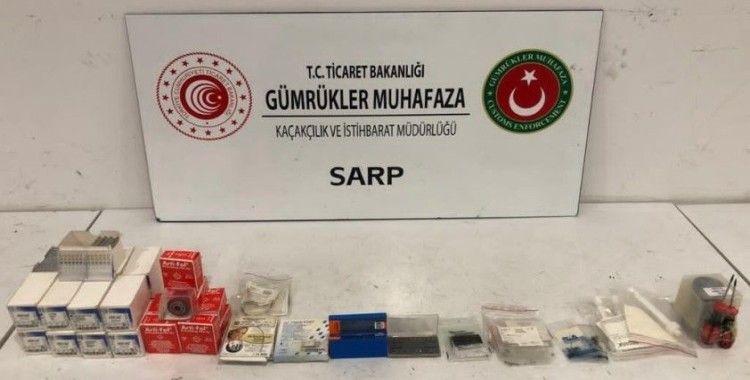 Gümrük kaçağı 144 bin lira değerinde dişçilikte kullanılan malzeme ele geçirildi