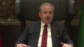 TBMM Başkanı Mustafa Şentop'tan depreme dair açıklama