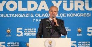 AK Parti Genel Başkanvekili Kurtulmuş: Her türlü imkanla Türkiye'yi durdurmak istiyorlar