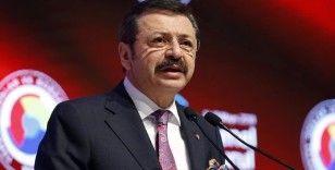 TOBB Başkanı Hisarcıklıoğlu'ndan Lütfi Elvan'a 'hayırlı olsun' mesajı